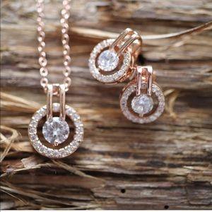 Jewelry - Halo Rose Gold set ✨💕